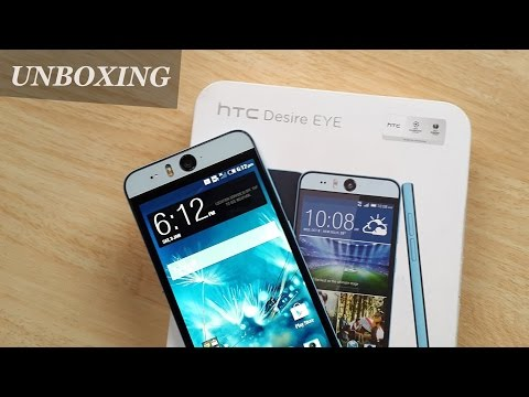 HTC Desire Eye Unboxing & First Impressions