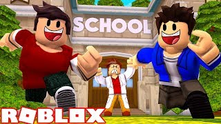 CHRISTIAN AND JEAN FLED THE SCHOOL AT ROBLOX!!!