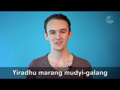 Learn words in the Wiradjuri language of NSW