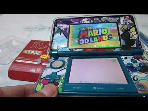 R4i B9S card 3DS games tested on 3DS Sys 116039J