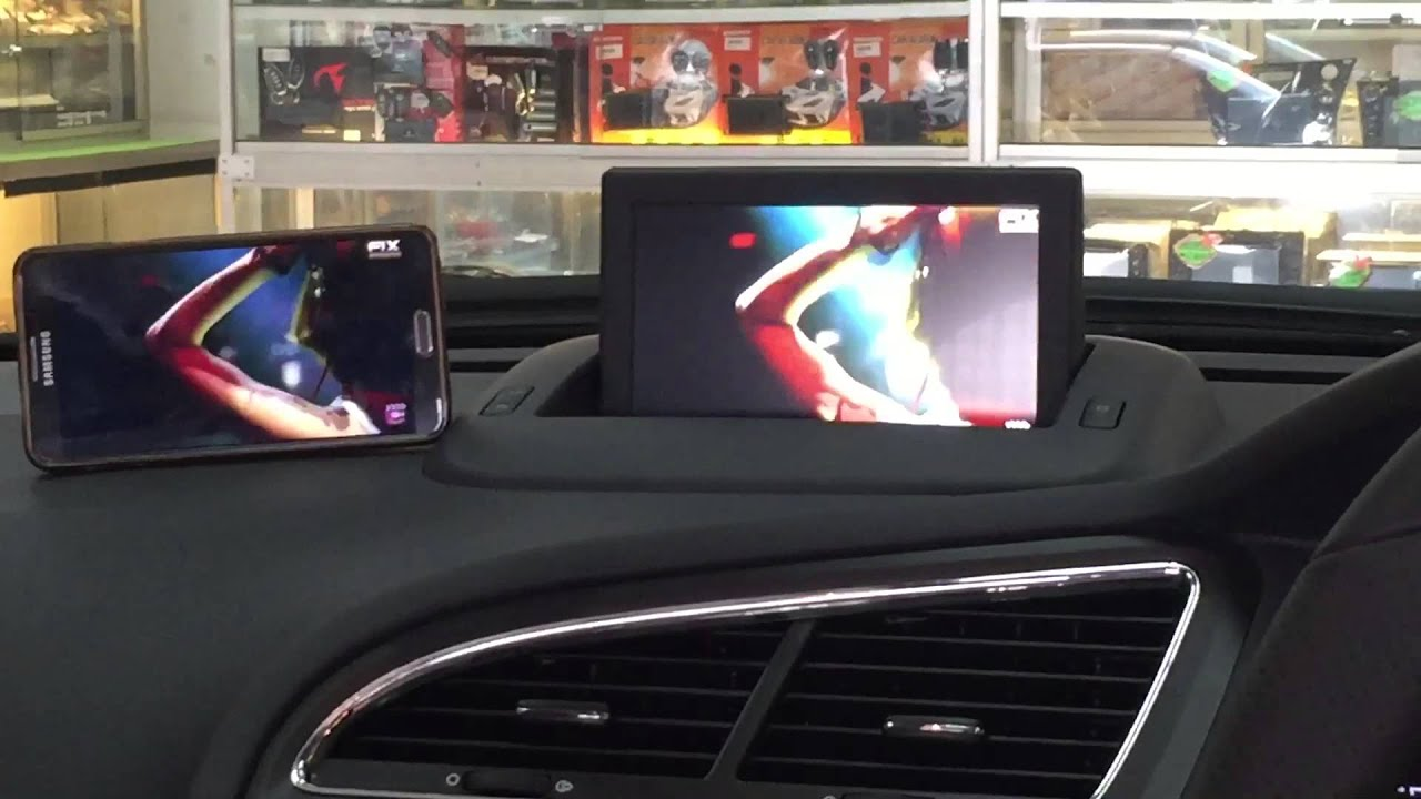 peugeot 5008 year 2015 mirror link system with original player youtube. Black Bedroom Furniture Sets. Home Design Ideas