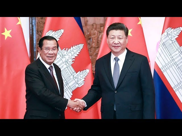 Chinese president and Cambodian PM vow more cooperation in trade, culture