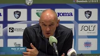 Après HAC - Paris FC (0-0), réaction de Paul Le Guen