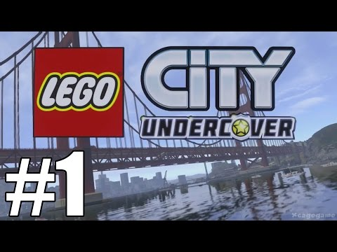 LEGO City Undercover ( Switch) Gameplay Walkthrough Part 1