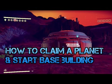 No Man Sky: How To Claim A Planet & Start Base Building! (Ps4 Tips & Tricks)