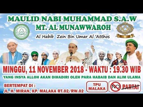 Ceramah Habib Bahar Bin Smith (Tabligh Akbar Majelis Al Munawwaroh) 11.11.2018 @TPUMALAKAPONDOKKOPI