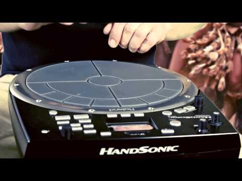 """Roland HandSonic HPD-20 """"World tour"""" featuring Kornél Mogyoró"""