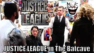 JUSTICE LEAGUE in The Batcave Parody! Feat. Batman Wonder Woman Flash Aquaman Cyborg