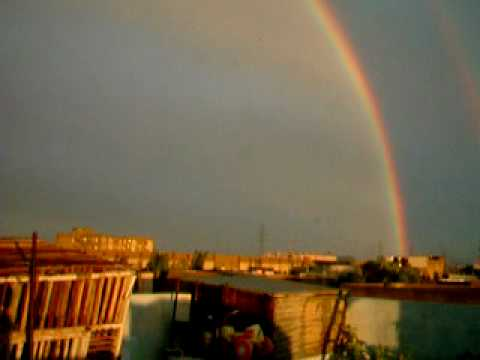 TWO RAINBOW IN PAKISTAN CAPTURED BY ME 2010.AVI
