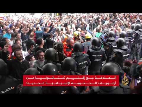 زعيم الاشتراكيين بيدرو سانشيز رئيسا جديدا للحكومة الإسبانية  - 12:21-2018 / 6 / 2