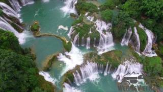 Video We Ride Vietnam -Drone Footage Ban Gioc waterfall / North East Motorbike Tour download MP3, 3GP, MP4, WEBM, AVI, FLV Juli 2018
