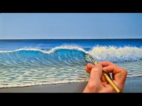 impressionist clear sky how to paint acrylic