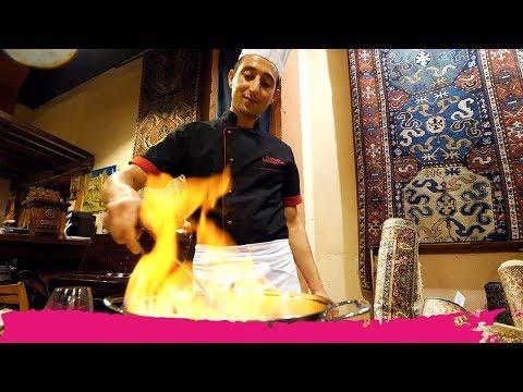 Armenian COOKING CLASS & Feast Inside MEGERIAN CARPET FACTORY | Yerevan, Armenia