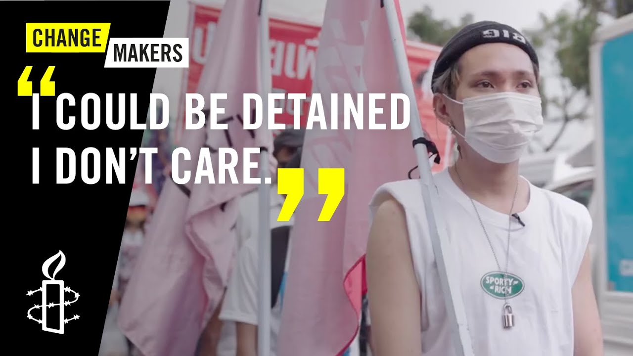Eighteen and Prosecuted for Protesting in Thailand  - 15:55-2021 / 6 / 9