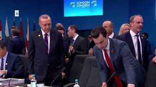'oment Erdogan arrived at the NATO summit & passed it majestically among world leaders