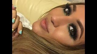 Макияж, прическа Jennifer Lopez