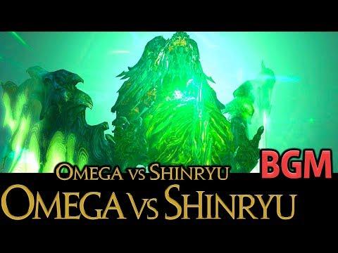 FF14 - オメガ vs 神龍