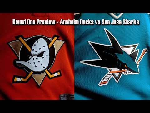 NHL Playoff Preview of Ducks vs Sharks
