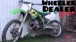 Wheeler dealer bike : 250 kx Kawasaki