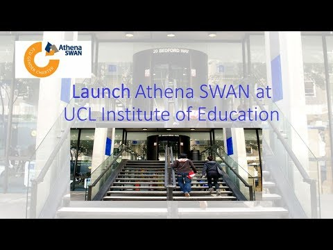 Launch of Athena SWAN at the IOE