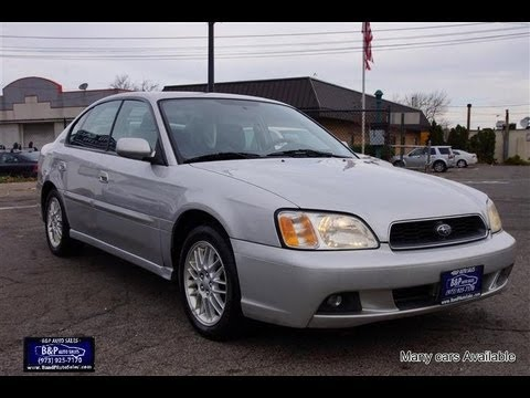 Legacy Auto Sales >> 2004 Subaru Legacy AWD 35th Anniversary Edition - YouTube