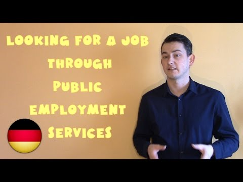 Germany #20 - Looking for a job through Public Employment Se