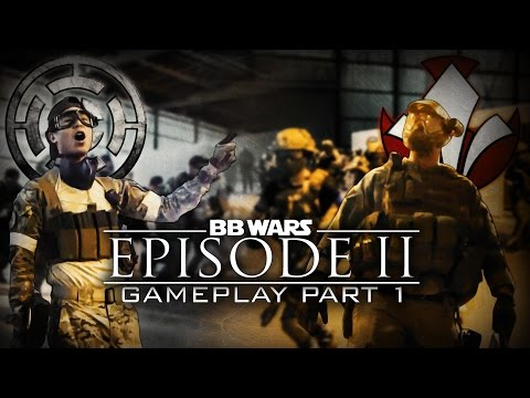 BB Wars Episode II Shadows of Fate Gameplay Part 1- Airsoft GI