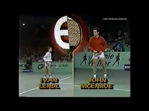 Ivan Lendl vs McEnroe Final - Antwerp 1985