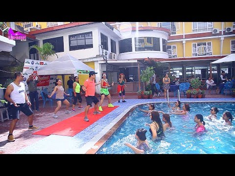 Zumba Aqua Fitness||Instructor Pratima Shrestha , Ismith Tamang