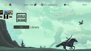 Shadow Of The Colossus PSX 2017 Reward PS4 Theme