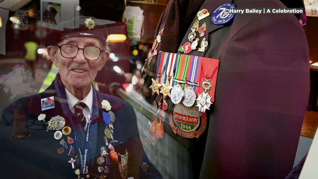 A tribute to WWII veteran, Harry Bailey