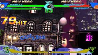 X-MEN VS. STREET FIGHTER Combo  Video Vol.2 Video