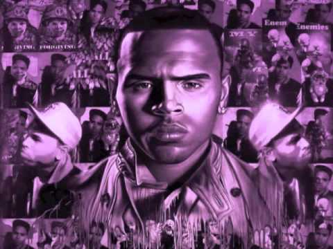 Chris Brown - She Aint You (Screwed & Chopped by Slim K)(DL INSIDE!)