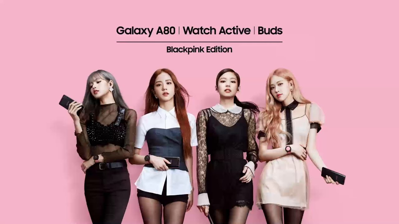 Unboxing the Galaxy A80 | Watch Active | Buds BLACKPINK Edition with BLACKPINK
