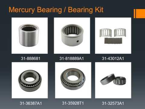 Mercury Outboard Bearing, Sterndrive Bearing, Bearing Kit