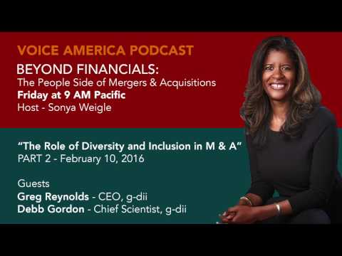 PART 02 - VOICE AMERICA - BEYOND FINANCIALS: The People Side of M&A.