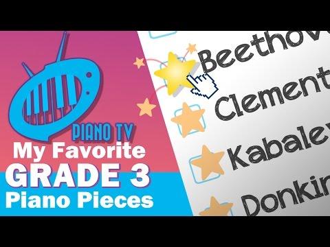 My Favorite Grade 3 Piano Pieces