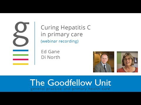 Goodfellow Unit Webinar: Curing Hepatitis C in Primary Care