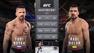 Undisputed 3: Redemption Yuri Boyka Vs Raul Quinones aka Dolor the pain EA Sports UFC 2