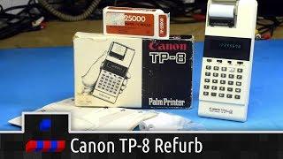 Canon TP-8 Palm Printer Calculator Refurb