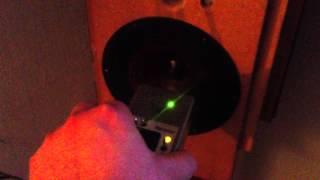 Phasentest Lautsprecher Verpolung