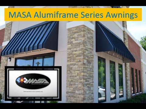 MASA Alumiframe Series: Metal Light Frame #Awnings