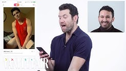 Billy Eichner Hijacks a Stranger's Tinder | Vanity Fair