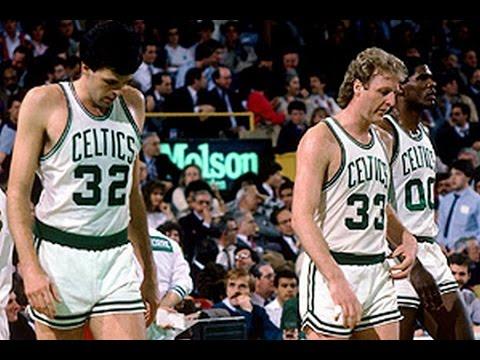 NBA Greatest Duos: Larry Bird & Kevin McHale vs Hawks (1988)