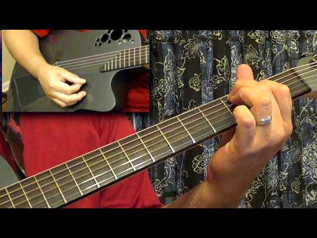 Guitar Tutorial - The Fez - Steely Dan Travel Video