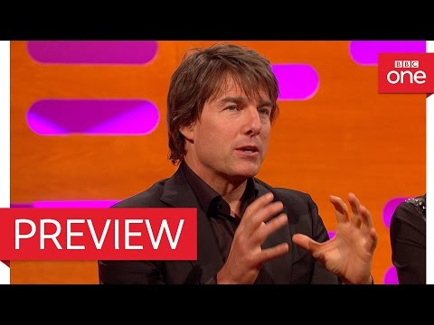 Tom Cruise describes throwing up in a fighter jet - The Graham Norton Show 2016 - BBC One