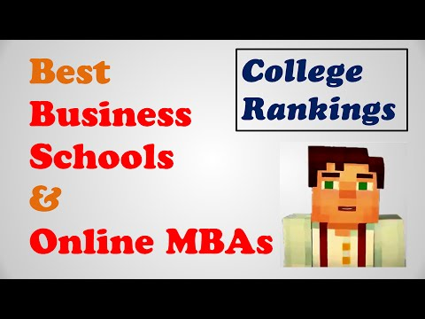 Best MBA programs, Online MBA rankings, Top MBA programs, Top online MBA programs