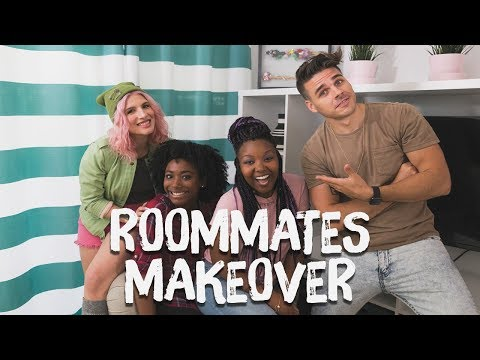 Roommates Apartment Makeover!! | Breaking Beige | Mr. Kate
