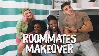 Roommates Apartment Makeover!! | Breaking Beige | Mr. Kate
