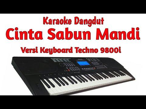 CINTA SABUN MANDI (KARAOKE) manual style keyboard techno 9800i sampling OMB